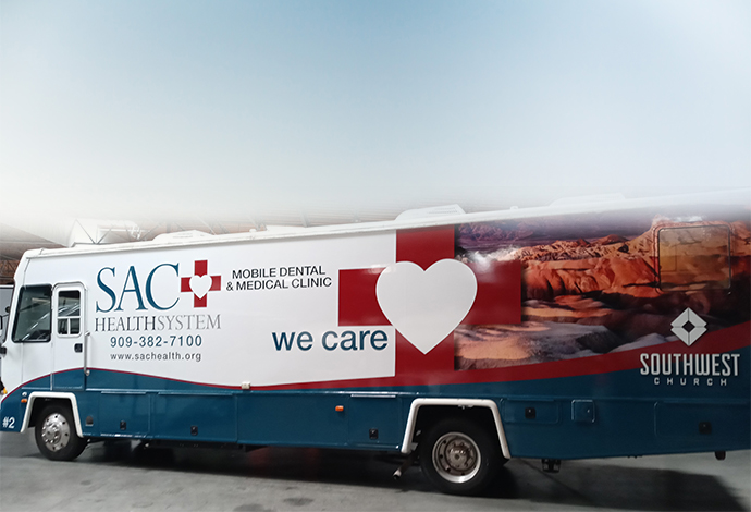 SAC Health System - Mobile Health and Dental Units